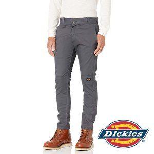 Dickies Men's Skinny-Straight Dble Knee Work Pants